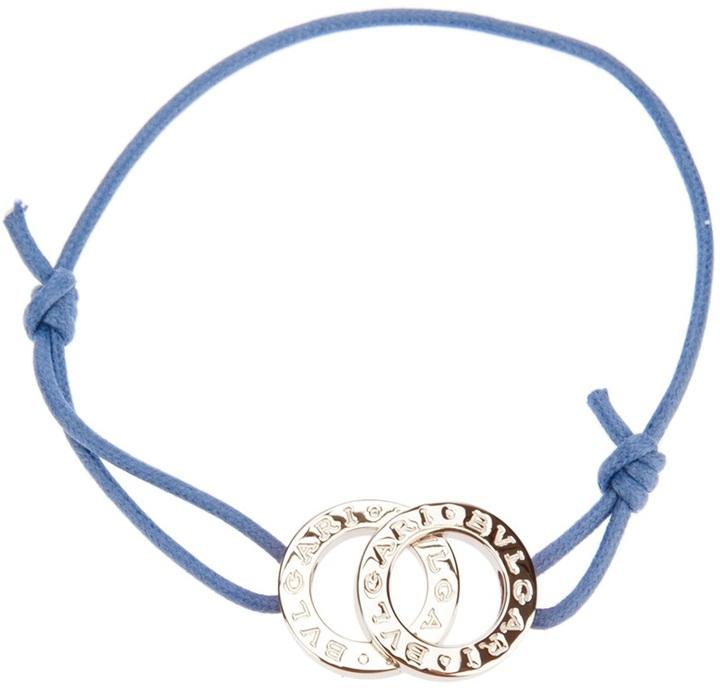 Bulgari logo plaque bracelet