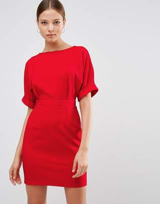 ASOS Mini Wiggle Dress $58 thestylecure.com