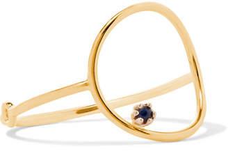 Sebastian SARAH & Stone Bubble 14-karat Gold Sapphire Ring