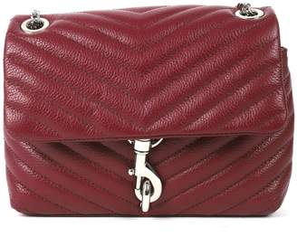Rebecca Minkoff Burgundy Edie Crossbody Bag