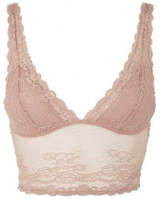 Topshop Lace Padded Bralet