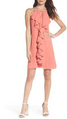FOREST LILY Ruffle Halter Dress