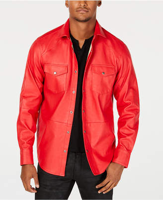 INC International Concepts I.n.c. Men's Rayon Shirt Jacket