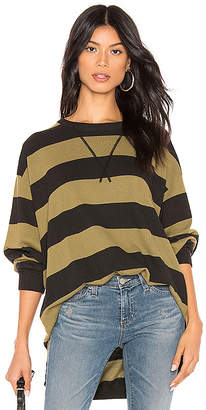 Free People Surfin On Your Stripes Top