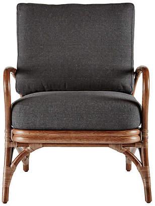 Selamat Soren Occasional Chair - Walnut/Charcoal