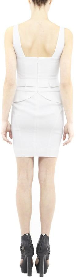 Nicole Miller Britney Stretch Linen Dress