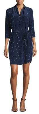 L'Agence Stella Star Print Shirtdress