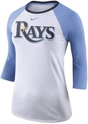 Nike Women's Tampa Bay Rays Raglan Tee