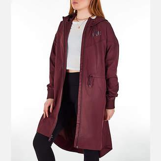 Nike Women's Sportswear Windrunner Long Hooded Wind Jacket