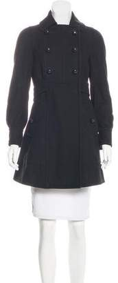 Marc Jacobs Knee-Length Wool Coat