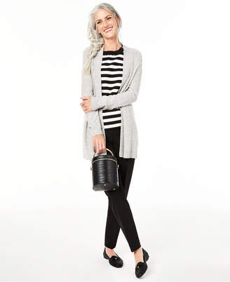 Charter Club Nicki Cashmere Open-Front Cardigan