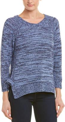 Three Dots High-Low Hem Sweater
