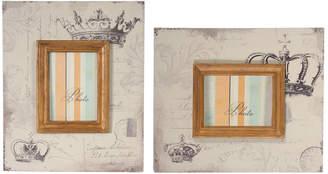 A&B Home Set Of 2 4X6 Frames