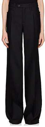 Chloé Women's Virgin Wool-Blend Suiting Twill Trousers