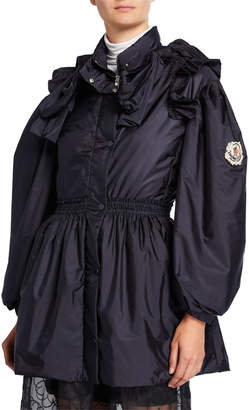 Moncler Genius Susan Bow-Sleeve Nylon Jacket