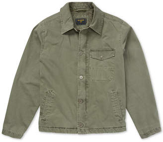Billabong Men's Surfplus Barlow Fleece-Lined Twill Jacket