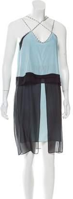 Jonathan Simkhai Silk Layered Dress