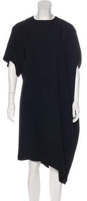 Jean Paul Gaultier Asymmetrical Midi Dress