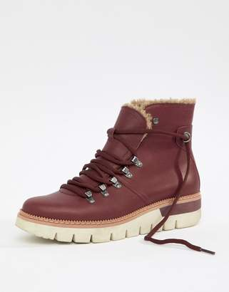 CAT Footwear Caterpillar Leather Lace Up Boots