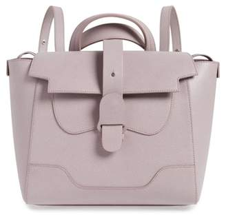 Senreve Medium Maestra Pebbled Leather Convertible Satchel