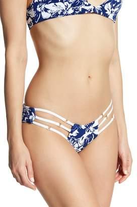 Beach Bunny Rocky Triple Strap Skimpy Bikini Bottoms