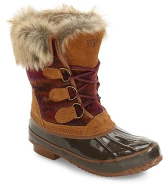 Women's Khombu Lace-Up Winter Boot $108.95 thestylecure.com