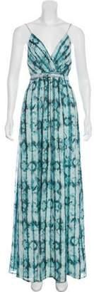The Jetset Diaries Serpiente Batik Dress Teal Serpiente Batik Dress