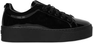 Kenzo 40mm Patent Leather Sneakers