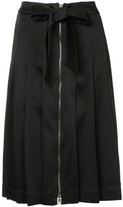 Moschino pleated midi skirt