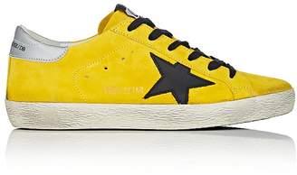 Golden Goose Women's Superstar Suede Sneakers $495 thestylecure.com