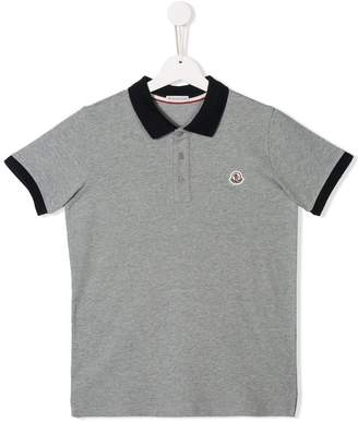 5439d2600f8c Moncler Polo Shirts For Boys - ShopStyle UK