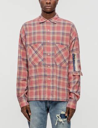 Mr. Completely Raglan Bomber Pocket Shirt