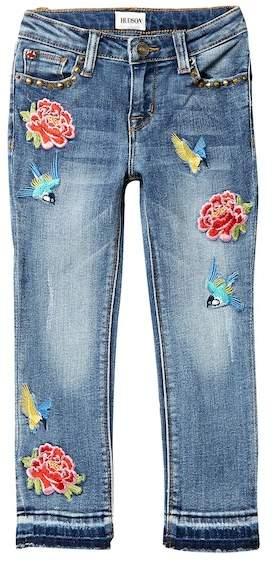 HUDSON Jeans Freebird Girlfriend Jeans (Toddler & Little Girls)