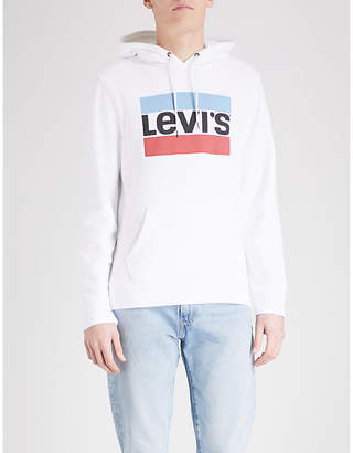 Levi's Graphic Po cotton-blend hoody
