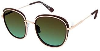 Elie Tahari Women's Th695 Brgld Round Sunglasses