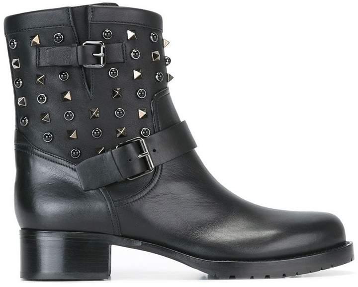 Valentino Garavani 'Rockstud Rolling' boots