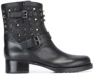 Valentino 'Rockstud Rolling' boots