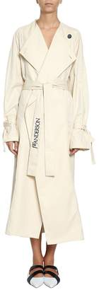 J.W.Anderson Oversized Cotton Trench Coat