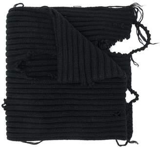 Diesel distressed scarf