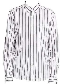 07891147c64 Paris Men's Long Sleeve Striped Shirt