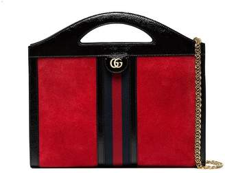 90a09706fb8c1e Gucci Red Suede Shoulder Bags for Women - ShopStyle Canada