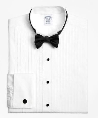 Brooks Brothers Regent Fit Ten-Pleat Wing Collar Tuxedo Shirt
