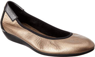 Arche Onely Leather & Suede Flat