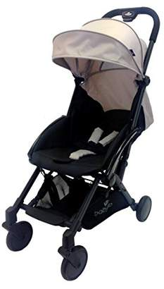 BabyLo Scat Compact Stroller, Sand