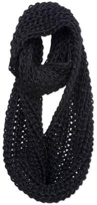 Magid Sequined Chunky Knit Infinity Scarf