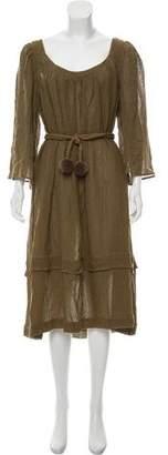 Three Graces London Casual Linen Dress