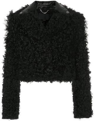 Alexander Wang cropped textured jacket