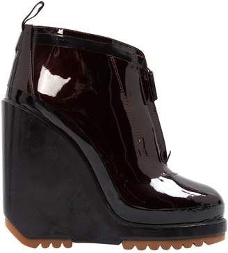 a9e461e2ad445 Marc Jacobs Burgundy Patent leather Boots
