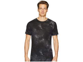 John Varvatos Collection Short Sleeve Crew with Shoulder Detail K2108U2