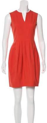 Halston Wool Sheath Dress